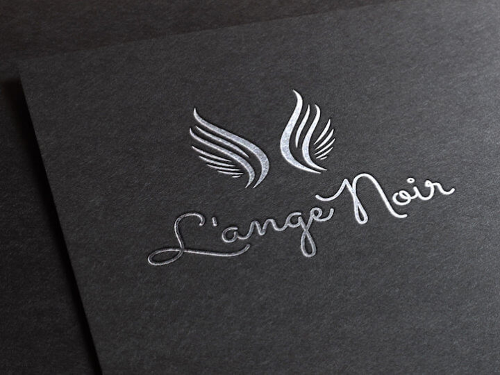 l'ange noir logo